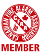 Canadian Fire Alarm Association Member.